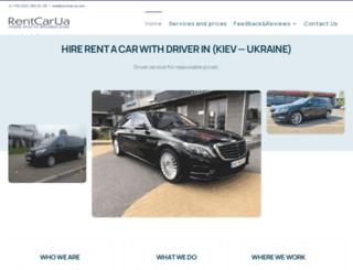 rentcarua.com screenshot