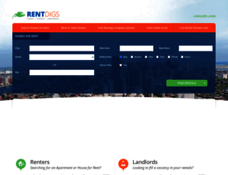 rentdigs.com screenshot