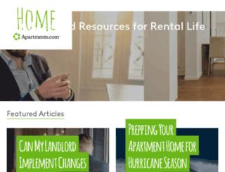 renters.apartments.com screenshot