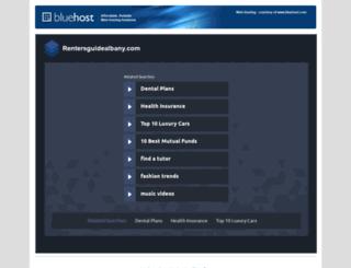 rentersguidealbany.com screenshot