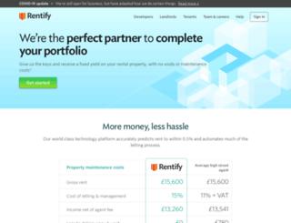 rentify.com screenshot