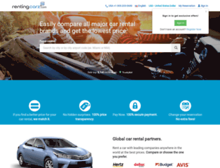 rentingcarz.com screenshot