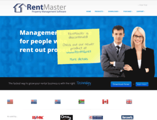 rentmaster.co.nz screenshot