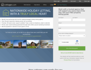 rentmycottage.com screenshot