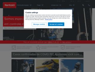 rentokil.com.br screenshot