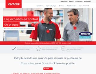rentokil.es screenshot