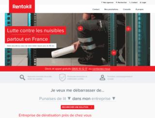 rentokil.fr screenshot