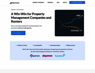renttrack.com screenshot