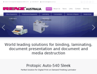 renzaustralia-preview.boostaging.com.au screenshot
