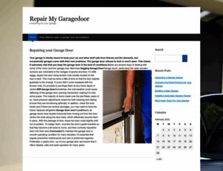 repair-my-garagedoor.com screenshot