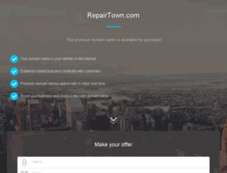 repairtown.com screenshot