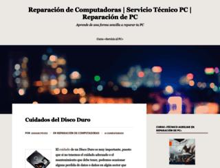 reparaciondecomputadoras9.wordpress.com screenshot