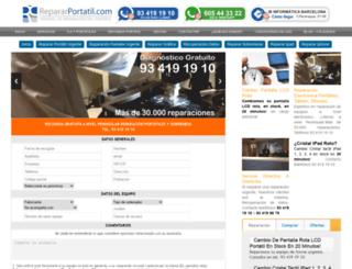repararportatil.com screenshot