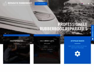 reparatie-rubberboot.nl screenshot