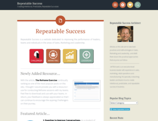 repeatablesuccess.wordpress.com screenshot
