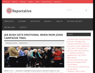 reportalive.com screenshot