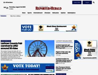 reporterherald.com screenshot