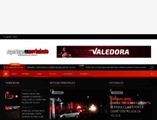 reporterosenmovimiento.wordpress.com screenshot