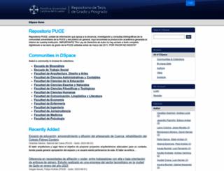 repositorio.puce.edu.ec screenshot
