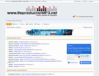 reproductormp3.net screenshot
