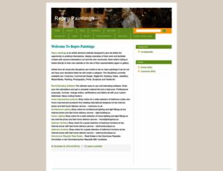 repropaintings.wordpress.com screenshot