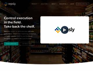 repsly.com screenshot
