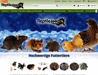reptile-food.ch screenshot