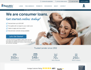 republicfinance.com screenshot