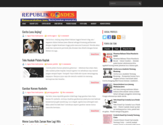 republik-gondes.blogspot.com screenshot