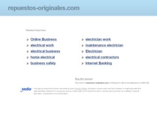 repuestos-originales.com screenshot