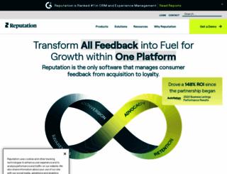 reputation.com screenshot
