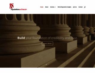 reputationarchitects.com screenshot