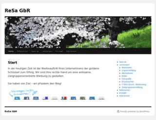 resa-gbr.de screenshot