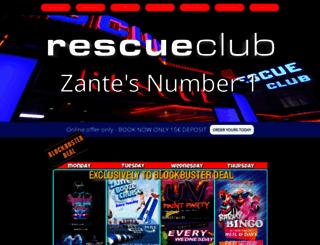 rescueclub.net screenshot