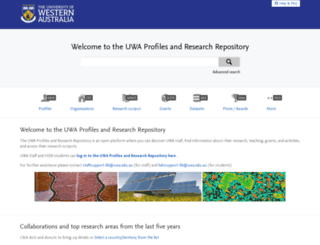 research-repository.uwa.edu.au screenshot