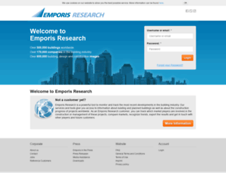 research.emporis.com screenshot