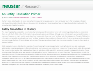 research.neustar.biz screenshot