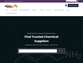 researchchemicalsdirectory.com screenshot