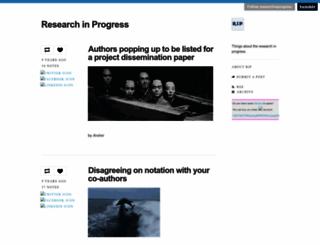 researchinprogress.tumblr.com screenshot