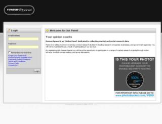 researchpanelsurveys.com.au screenshot
