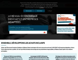 reseau-gesat.com screenshot