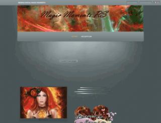 reseau-social-magic-moments.com screenshot