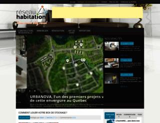 reseauhabitation.com screenshot