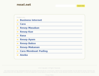 resel.net screenshot