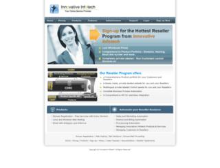 reseller.iinfotech.com screenshot