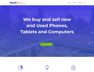 resellitnow.com screenshot