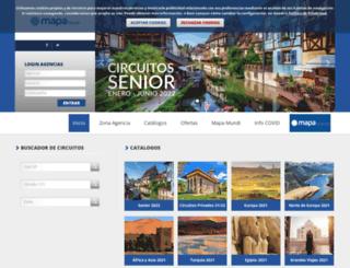 reservas.mapatours.com screenshot