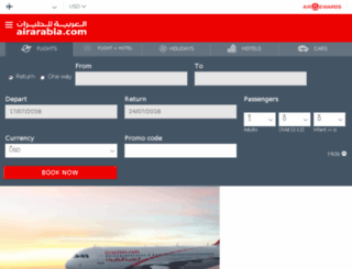 reservation.airarabia.com screenshot