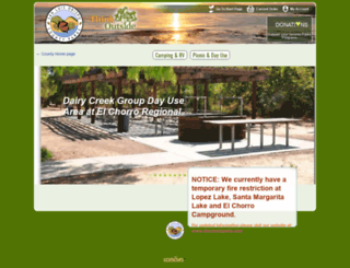 reservations.slocountyparks.com screenshot