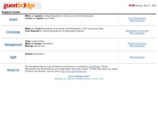 reservationsource.com screenshot